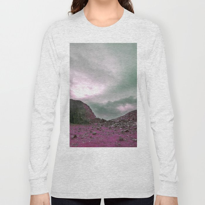 Pink Norway - Norwegian Lapponian Gate Long Sleeve T-shirt