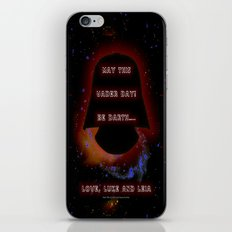 Vader Day - 023 iPhone & iPod Skin
