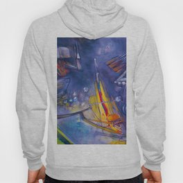 Event Horizon (Abstract Expressionism and Surrealist Art) by R. Matta Hoody