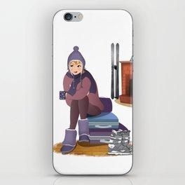 I Love Winter iPhone Skin