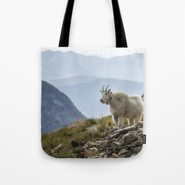 The Ups and Downs of Being A Mountain Goat No. 2a Tote Bag