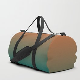 Quetzal Green Meerkat Gradient Pattern Duffle Bag