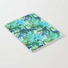 Palm Leaf Green Notebook