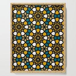 Persian Mosaic – Marigold Palette Serving Tray