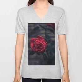 Summer Rose Unisex V-Neck