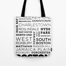 City of Neighborhoods - II Tote Bag