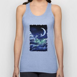 The Doctor Dreaming Of Fishing Unisex Tank Top