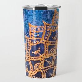 Mandala theme Travel Mug