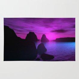 Violet Sunsets Rug