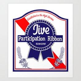 Jive participation Art Print
