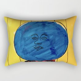 Bleuberry - Pop Art Surrealism Art Rectangular Pillow