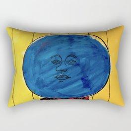 Bleuberry - Pop Art Surrealism Art Rectangular Pillow