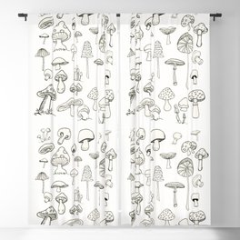 Simply Mushrooms Blackout Curtain