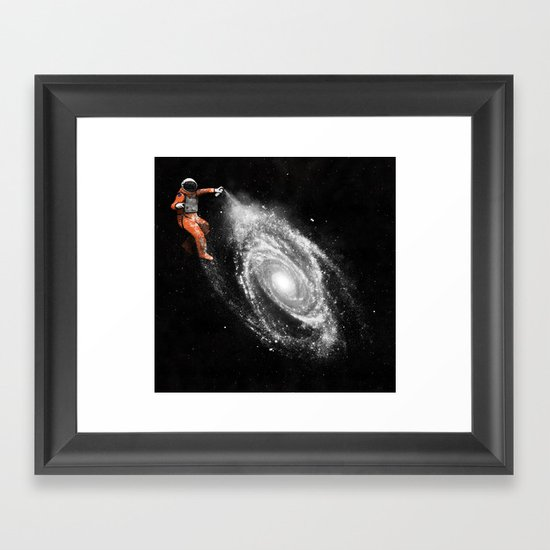 Space Art Framed Art Print