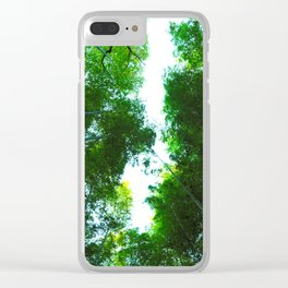 Feeling So Small Clear iPhone Case