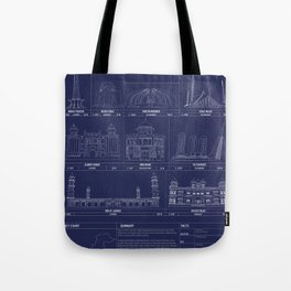 The Architecture of Pakistan Tote Bag