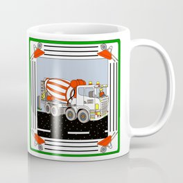 Cement Mixer Block Coffee Mug