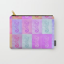 pastel seahorses 2 Carry-All Pouch