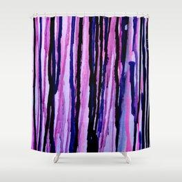 Drip paint  Shower Curtain