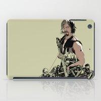 daryl dixon iPad Cases featuring Daryl Dixon by Huebucket