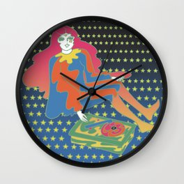 Astral Records Wall Clock
