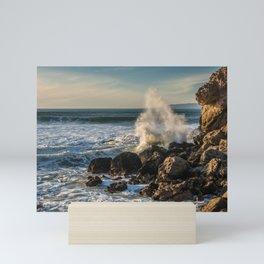 Crashing wave Mini Art Print