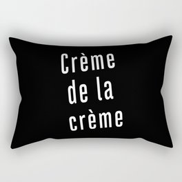 crème de la crème Rectangular Pillow