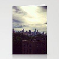 manhattan Stationery Cards featuring Manhattan  by Claire Beaufort