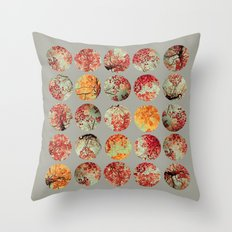 Inkblot Quilt - by Garima Dhawan and Joy StClaire Throw Pillow