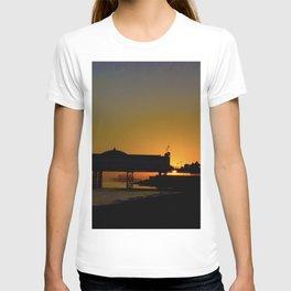 September Sunset at Brighton Pier T-shirt