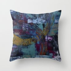 In the Fray Throw Pillow