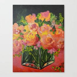 Square Vase Canvas Print