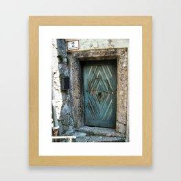 The Door to it All Framed Art Print