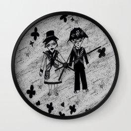 Lampiao e Maria Bonita love Wall Clock
