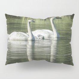 Family of Swans, No. 1 Pillow Sham