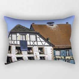 Windows - Colmar France Rectangular Pillow