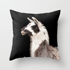 LAMA ( LLAMA) Throw Pillow
