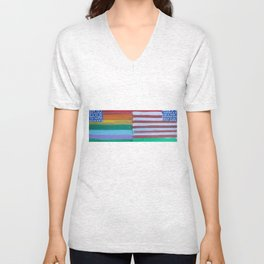 Flags for the Future 24 Unisex V-Neck