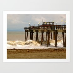 Sea Side II Art Print