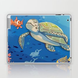 Under the Sea and Above the Coral Laptop & iPad Skin