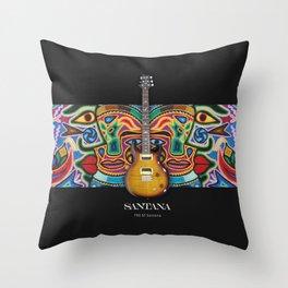Santana Gutiar Throw Pillow