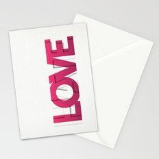 It's a Love-Hate thing Stationery Cards