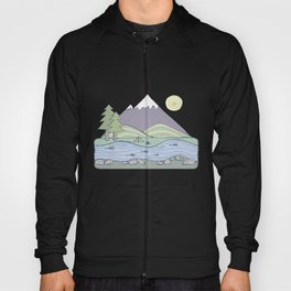Camping in the Forest Hoody