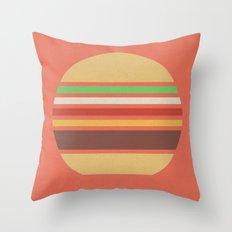 Meal Time (clock#17) Throw Pillow