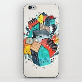 Tumble Town  iPhone Skin