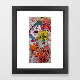 Much Talented Man Framed Art Print