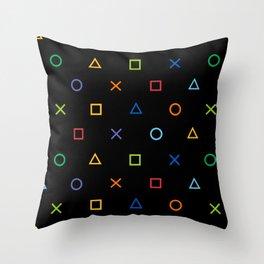 Colofrul Gamer Throw Pillow