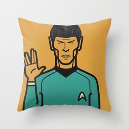 Startrek Throw Pillow