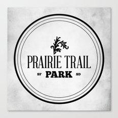 Prairie Trail Park Canvas Print