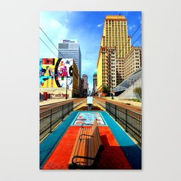 Memphis: Madison Ave Canvas Print